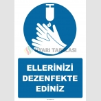 EF1249 - Ellerinizi Dezenfekte Ediniz