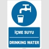 EF1253 - Türkçe İngilizce İçme Suyu Drinking Water