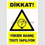 EF1274 - Dikkat! Yüksek Basınç Testi Yapılıyor