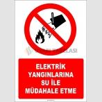 EF1313 - Elektrik Yangınlarına Su İle Müdahale Etme
