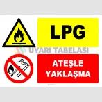 EF1333 - LPG, Ateşle Yaklaşma