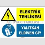 EF1368 - Elektrik Tehlikesi, Yalıtkan Eldiven Giy