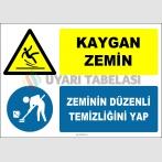 EF1396 - Kaygan Zemin, Zeminin Düzenli Temizliğini Yap