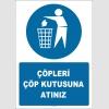 EF1401  - Çöpleri Çöp Kutusuna Atınız