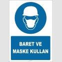 EF1417 - Baret ve Maske Kullan