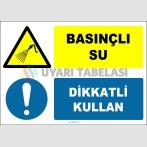 EF1441 - Basınçlı Su, Dikkatli Kullan