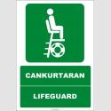 EF1447 - Türkçe İngilizce Cankurtaran, Lifeguard