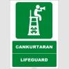 EF1449 - Türkçe İngilizce Cankurtaran, Lifeguard