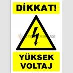 EF1553 - Dikkat! Yüksek Voltaj