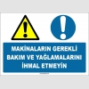 EF1567 - Makinaların Gerekli Bakım ve Yağlamalarını İhmal Etmeyin