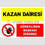 EF1571 - Kazan Dairesi, Görevliden Başkası Giremez