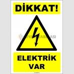 EF1594 - Dikkat! Elektrik Var