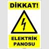 EF1597 - Dikkat Elektrik Panosu