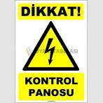 EF1598 - Dikkat Kontrol Panosu
