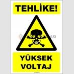 EF1616 - Tehlike! Yüksek Voltaj
