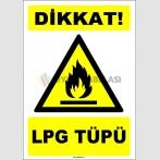 EF1642 - Dikkat! LPG Tüpü