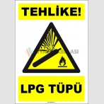 EF1643 - Tehlike! LPG Tüpü