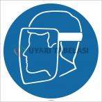 EF1699 - Yüz Siperi İşareti/Levhası/Etiketi