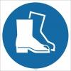 EF1703 - Koruyucu Ayakkabı İşareti/Levhası/Etiketi