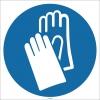 EF1704 - Koruyucu Eldiven İşareti/Levhası/Etiketi