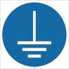 EF1716 - Topraklama İşareti/Levhası/Etiketi