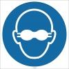 EF1717 - Koruyucu Gözlük İşareti/Levhası/Etiketi