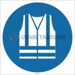 EF1722 - Koruyucu Yelek İşareti/Levhası/Etiketi