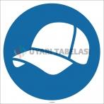 EF1733 - Koruyucu Kep/Şapka İşareti/Levhası/Etiketi