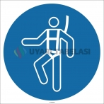 EF1744 - Emniyet Kemeri İşareti/Levhası/Etiketi