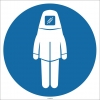 EF1747 - Koruyucu Giysi İşareti/Levhası/Etiketi