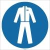 EF1750 - Koruyucu Giysi İşareti/Levhası/Etiketi