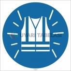 EF1754 - Reflektörlü Yelek İşareti/Levhası/Etiketi