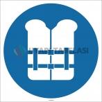 EF1761 - Can Yeleği İşareti/Levhası/Etiketi