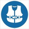EF1762 - Can Yeleği İşareti/Levhası/Etiketi