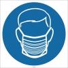 EF1764 - Hijyen Maskesi İşareti/Levhası/Etiketi