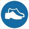 EF1780 - Koruyucu Ayakkabı İşareti/Levhası/Etiketi