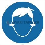 EF1793 - Kulak Tıkacı İşareti Levhası/Etiketi