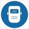 EF1798 - Kaynak Maskesi İşareti/Levhası/Etiketi