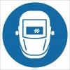 EF1799 - Kaynak Maskesi İşareti/Levhası/Etiketi