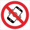 EF1803 - Cep Telefonu Kullanmak Yasaktır İşareti/Levhası/Etiketi