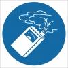 EF1810 - Gaz Ölçüm Cihazı İşareti/Levhası/Etiketi