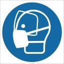 EF1814 - Siperli Maske İşareti/Levhası/Etiketi