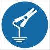 EF1822 - Topraklama Maşası İşareti/Levhası/Etiketi