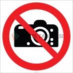 EF1849 - Fotoğraf Çekmek Yasaktır İşareti/Levhası/Etiketi