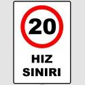 EF2050 - 20 km hız sınırı