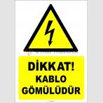 EF2059 - Dikkat! Kablo gömülüdür
