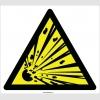 EF2085 - Dikkat Patlayıcı Madde İşareti