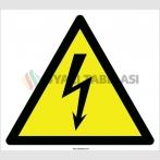 EF2095 - Dikkat Elektrik Tehlikesi İşareti