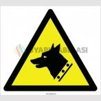 EF2096 - Dikkat Bekçi Köpeği Tehlikesi İşareti