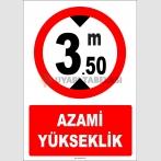 EF1347 - Azami Yükseklik 3.50 metre